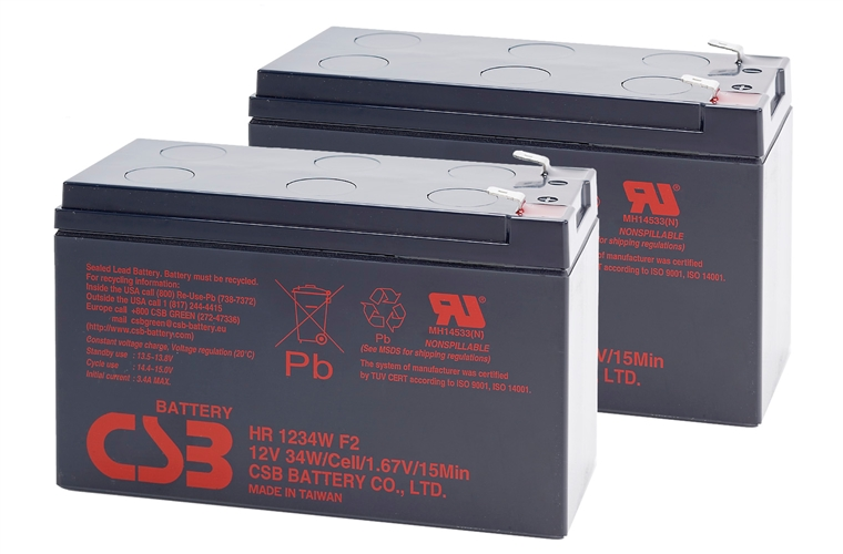APC KIT RBC124 - baterie CSB