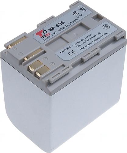 Baterie T6 power BP-535, BP-508, BP-511, BP-511A, BP-512, BP-514, BP-522, stříbrná