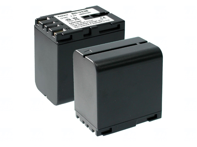 Baterie T6 power BN-V428, BN-V428U, šedá, 3400mAh