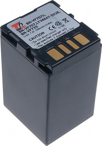 Baterie T6 power BN-VF707U, BN-VF707, BN-VF733, BN-VF707US, BN-VF714, BN-VF714U, šedá
