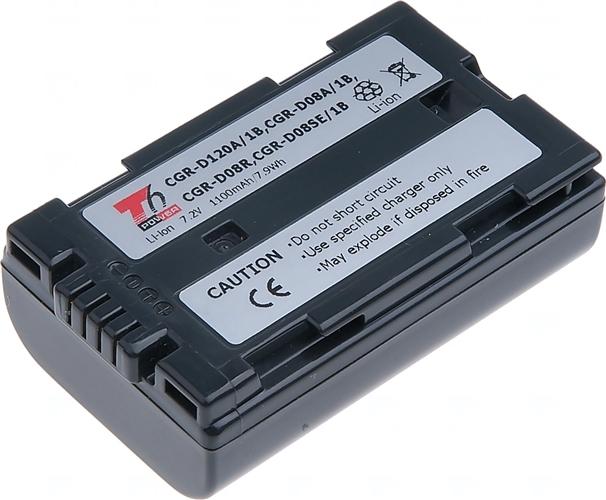 Baterie T6 power CGR-D08, CGR-D08A/1B, CGR-D08S, CGR-D08R, CGR-D08SE/1B, CGR-D120, CGR-D120A/1B, CGR-D120E/1B