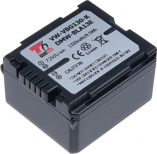 Baterie T6 power VW-VBG070, VW-VBG070-K, VW-VBG130, VW-VBG130-K, VW-VBG130E-K, DMW-BLA13E