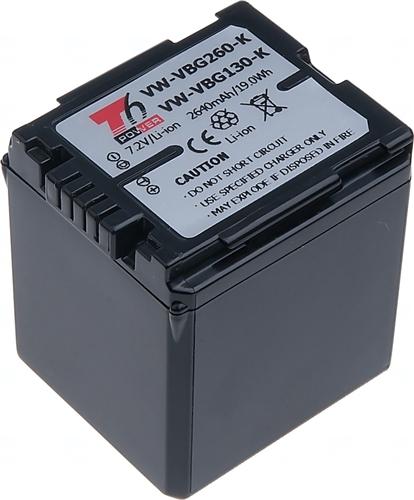 Baterie T6 power VW-VBG260, VW-VBG260-K, VW-VBG260E-K, VW-VBG130, VW-VBG130-K, VW-VBG130E-K