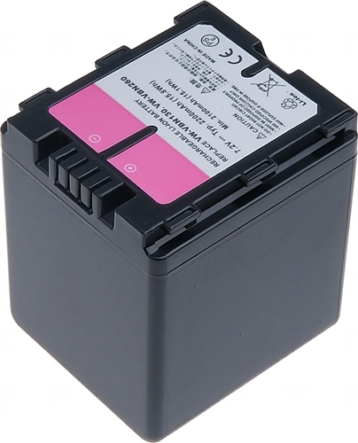 Baterie T6 power VW-VBN260, VW-VBN260E, VW-VBN130, VW-VBN130E