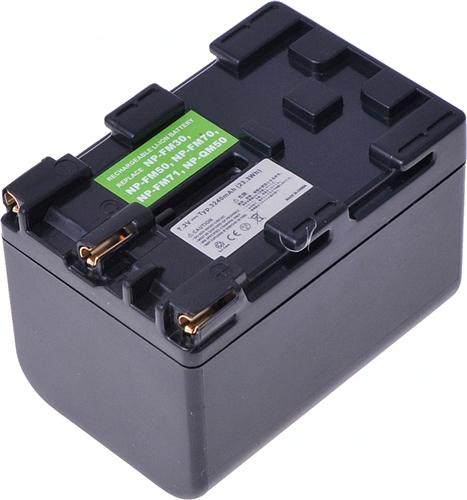 Baterie T6 power NP-FM70, NP-FM71, NP-QM70, NP-QM71, NP-QM70D, NP-QM71D, šedá