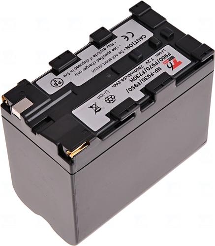 Baterie T6 power NP-F930, NP-F950, NP-F960, NP-F970, šedá