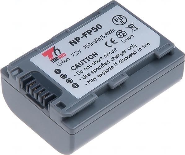 Baterie T6 power NP-FP50, NP-FP30, šedá