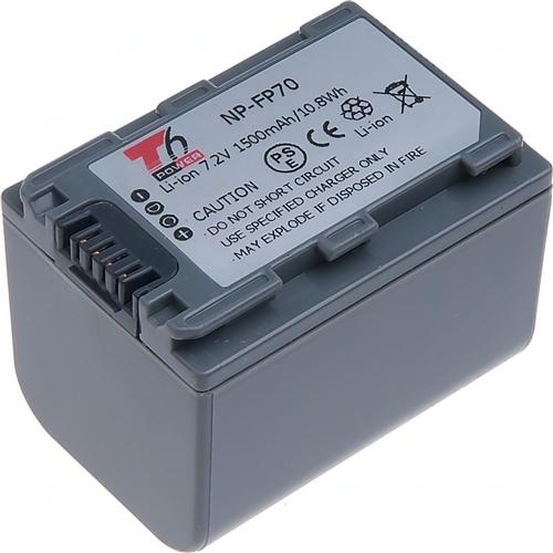 Baterie T6 power NP-FP70, NP-FP71, šedá