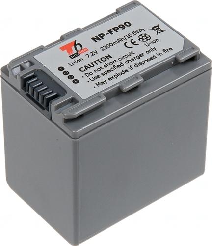 Baterie T6 power NP-FP90, šedá